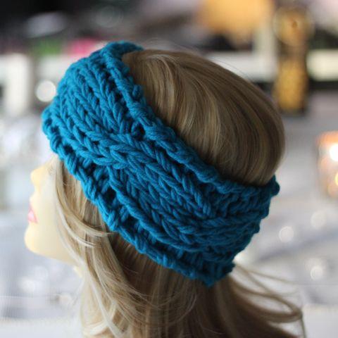 e7b31b23aee6f1 Sale %% Sale %%%. Dickes Grobstrick Bandeau Haarband strick zopf Stirnband  ...